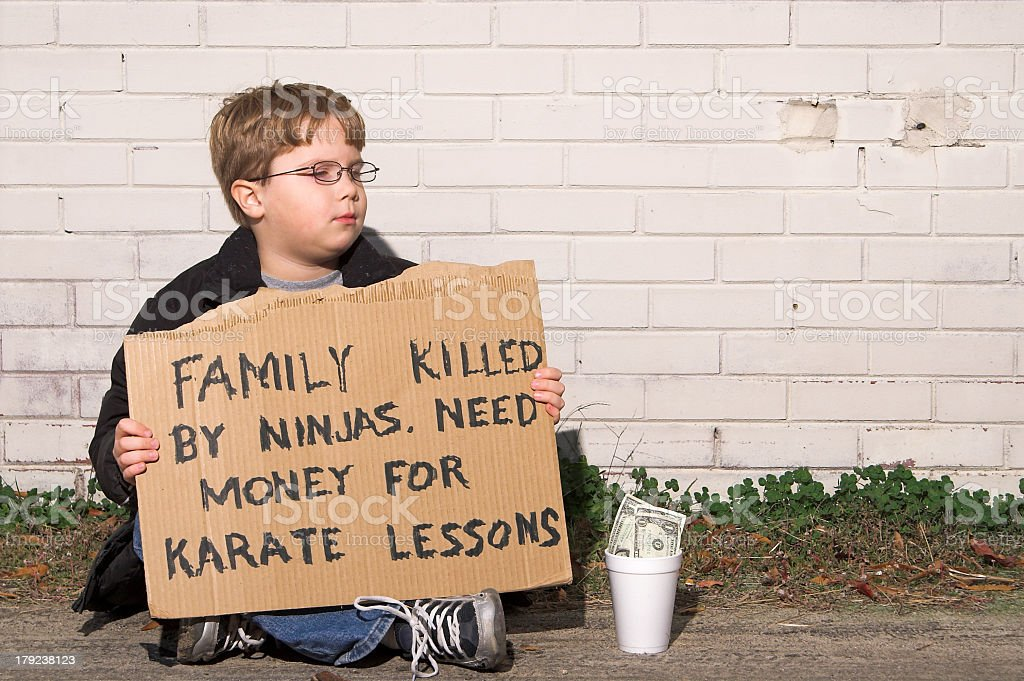 Karate Lessons stock photo
