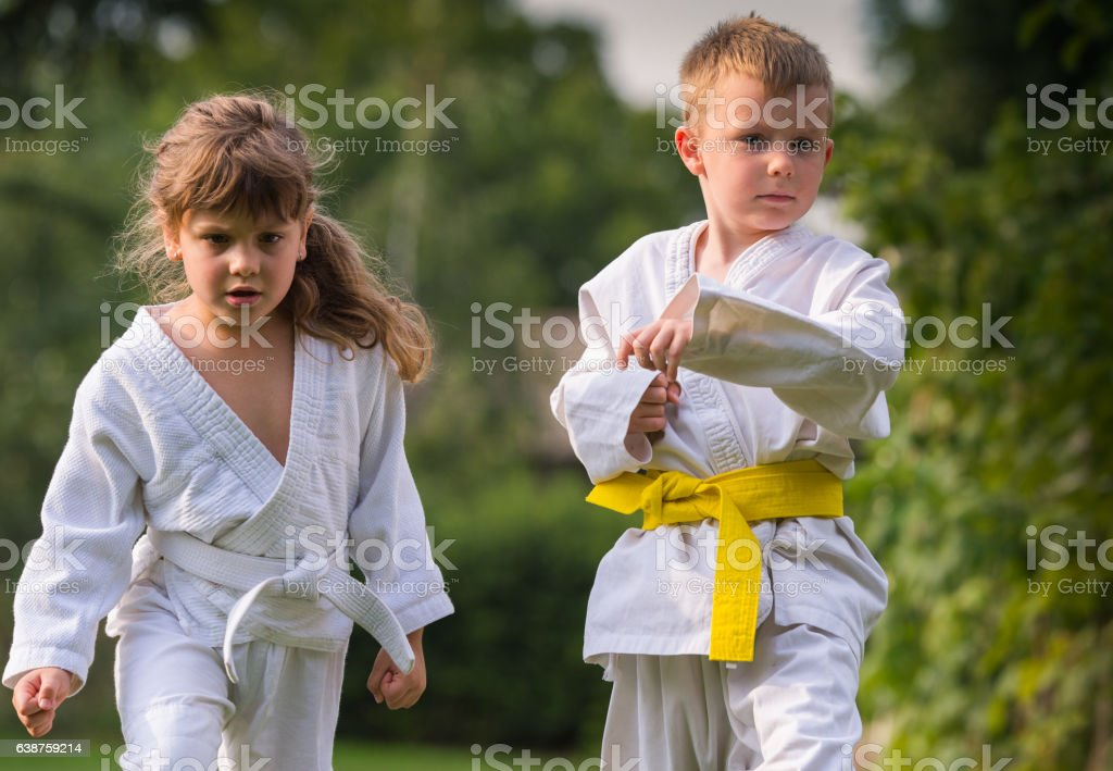 Karate martial Arts stock photo