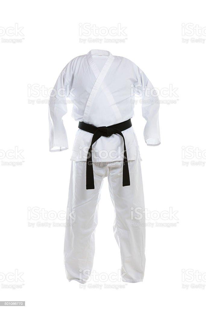 Karate Uniform stock photo