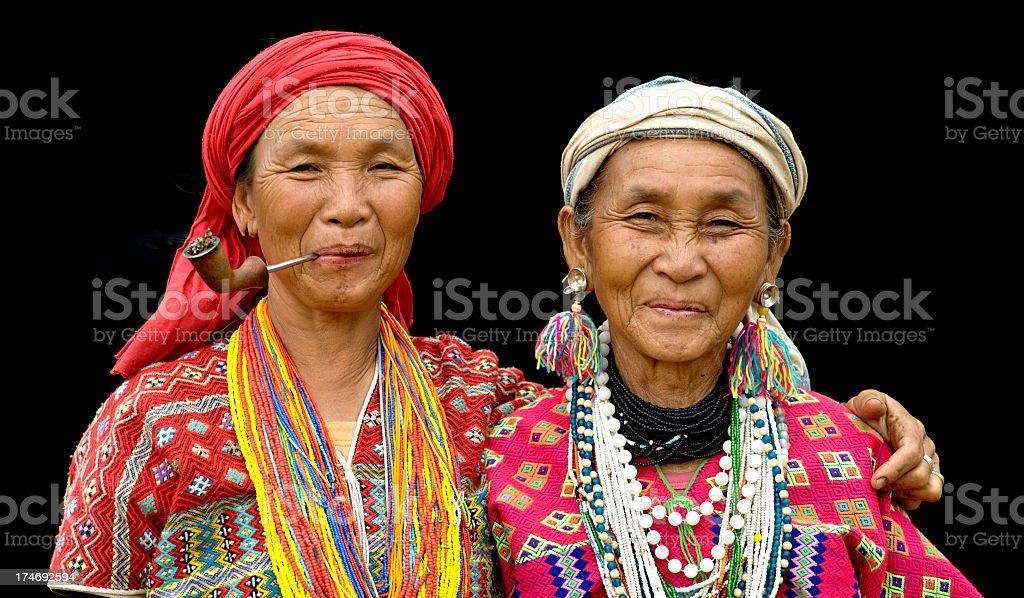 Karen Mother and Daughter stock photo