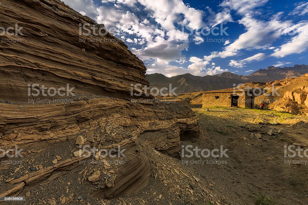 Kargil Village stock photo