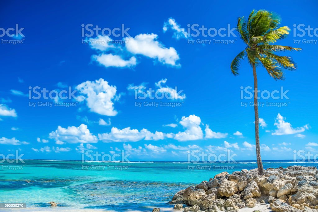 karibischer Strand stock photo