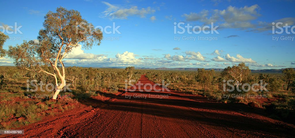 Karijini National Park Australien stock photo
