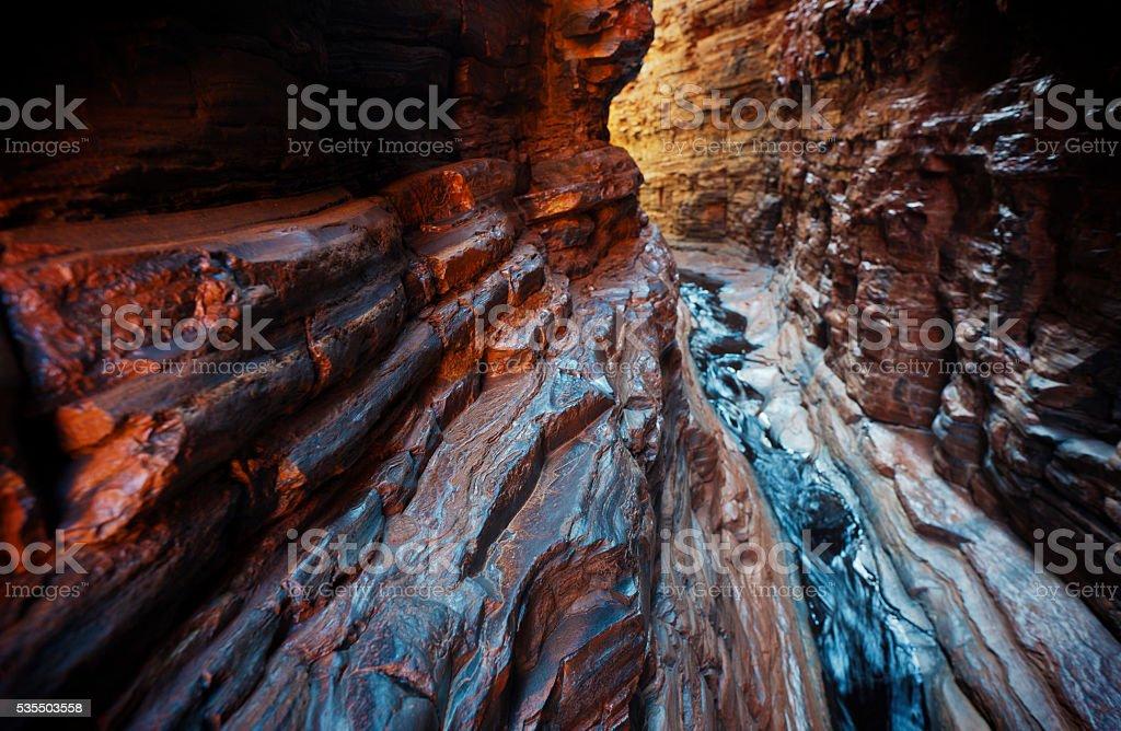 Karijini National Park stock photo