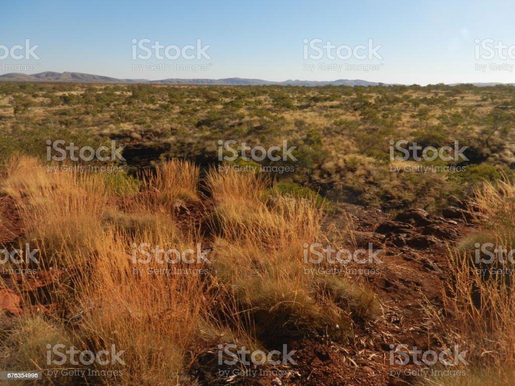 Karijini National Park, The Pilbara, Western Australia stock photo