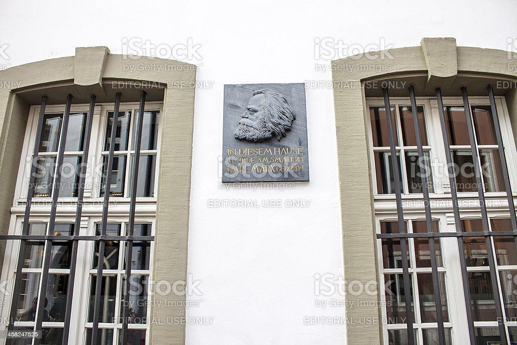 Karl Marx House stock photo