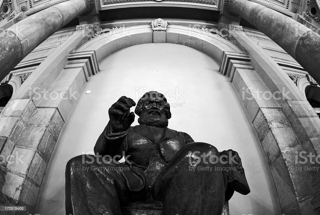 Karl Marx royalty-free stock photo