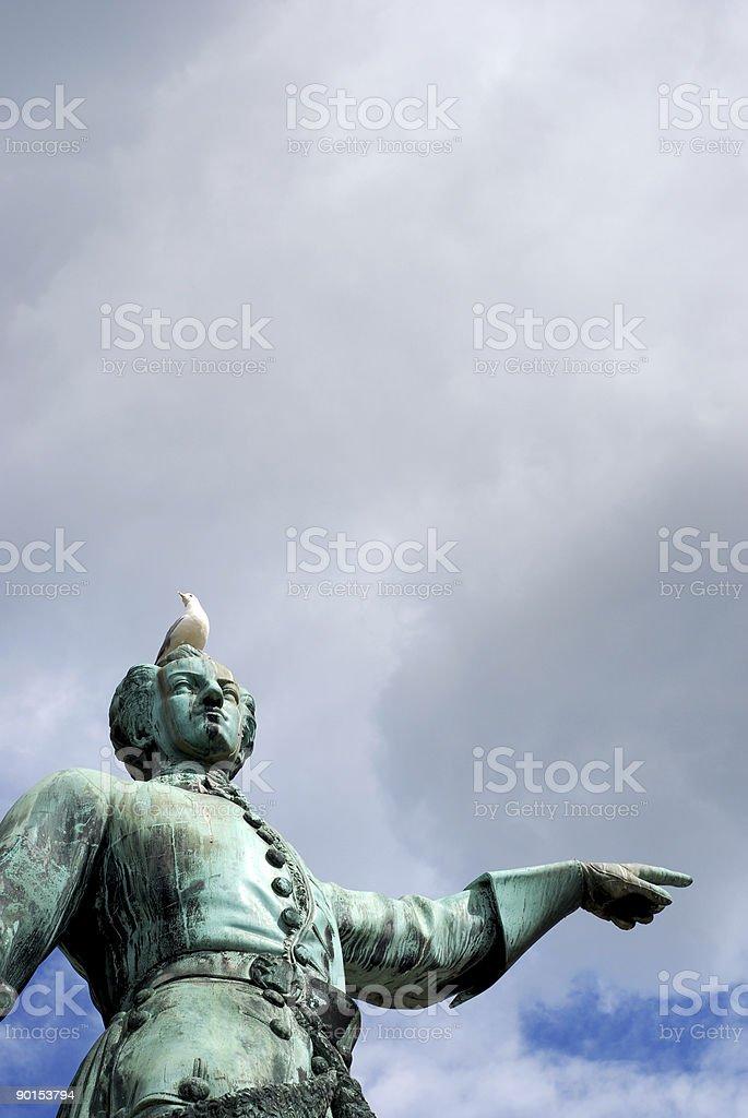 Karl XII Stockholm stock photo