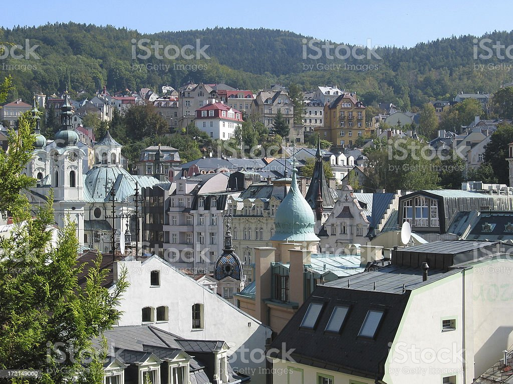 karlovy vary, czech republic royalty-free stock photo