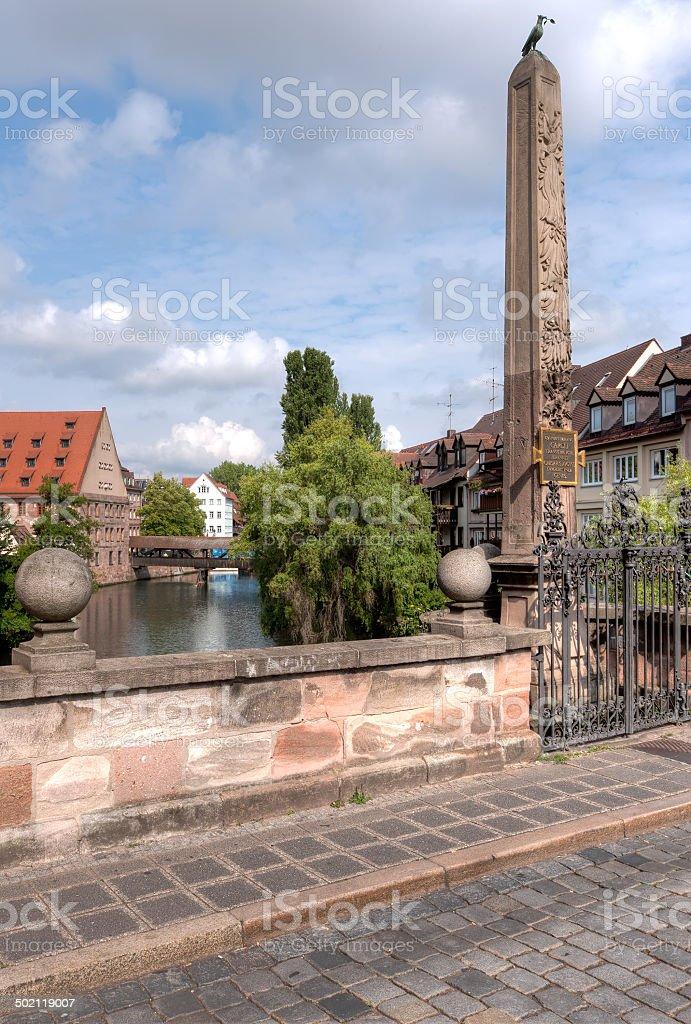 Karlsbuecke To Henkersteg stock photo