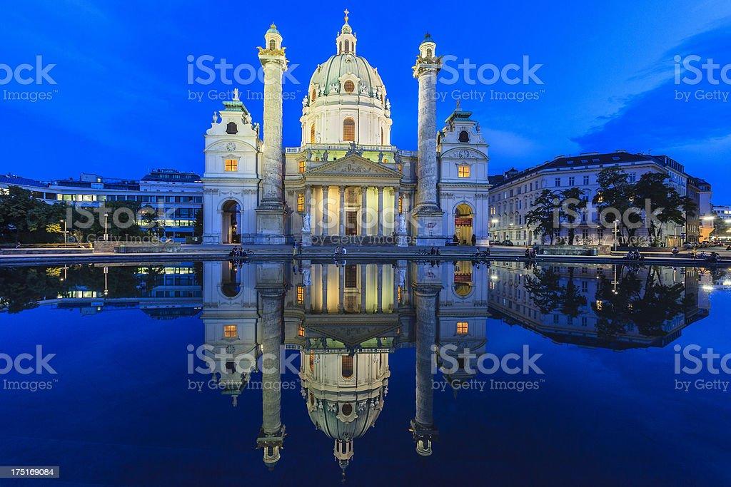 'Karlskirche, St. Charles' Church, Vienna' stock photo