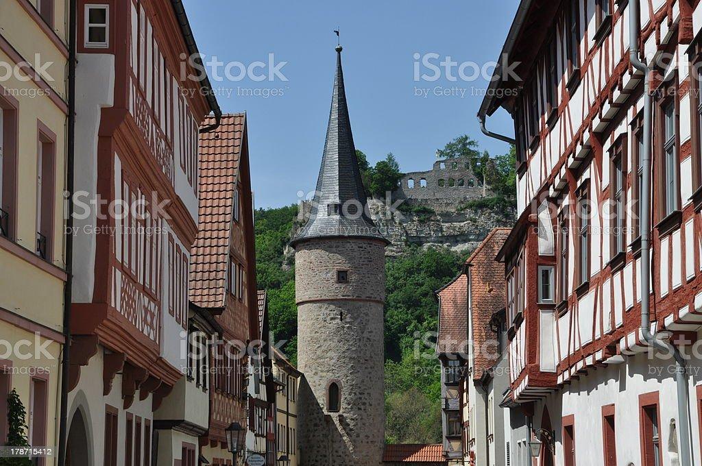 Karlstadt, Germany stock photo