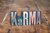 karma word wood