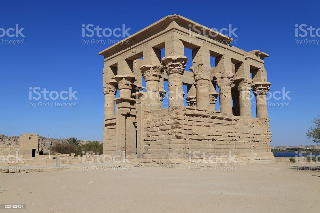 Karnak religious in Egypt stock photo