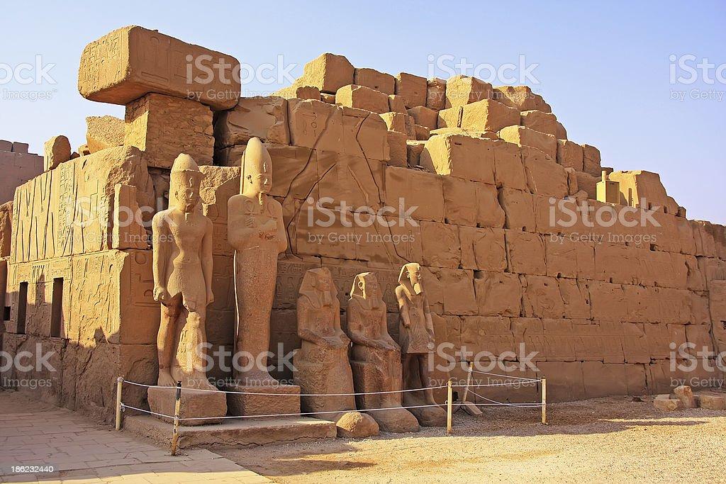 Karnak temple complex, Luxor royalty-free stock photo
