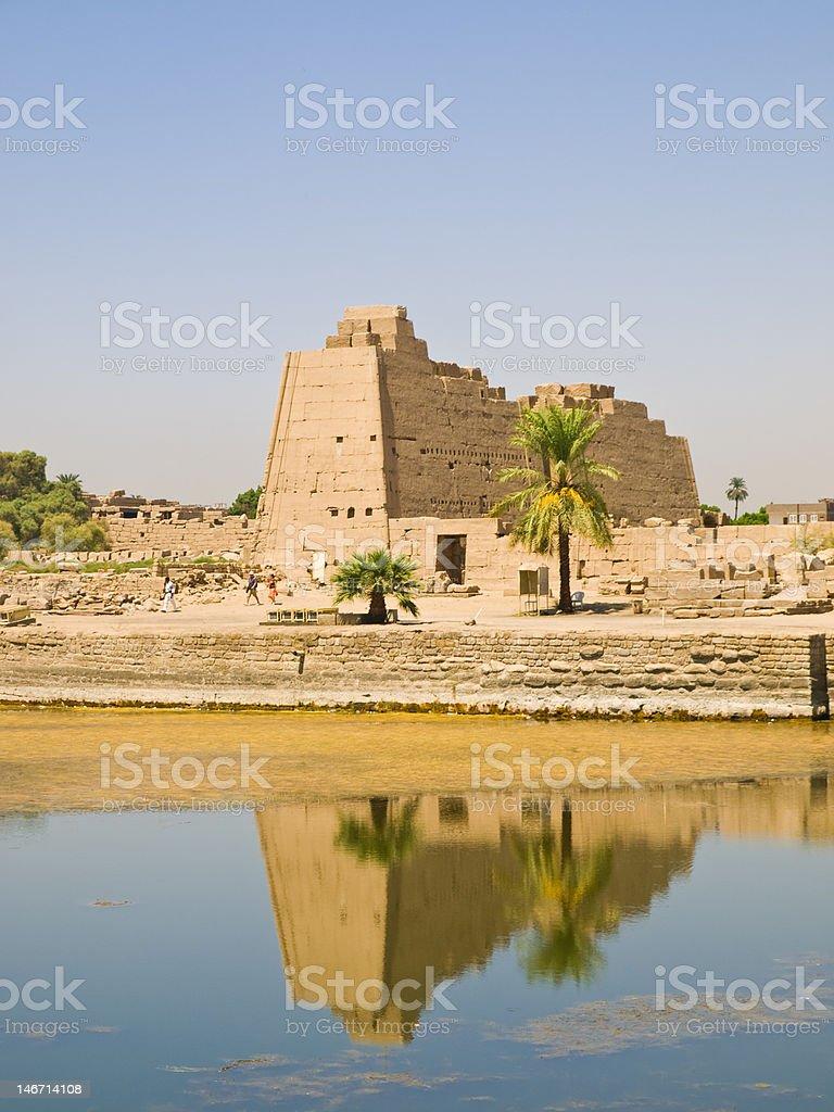 Karnak temple royalty-free stock photo