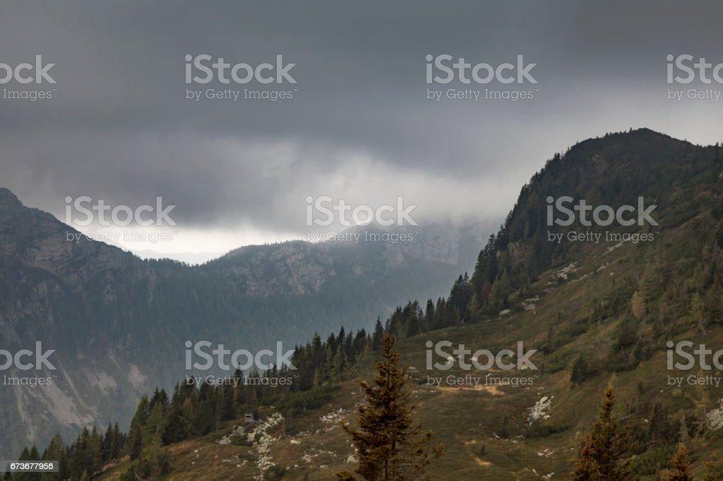 Karnische Alpen stock photo