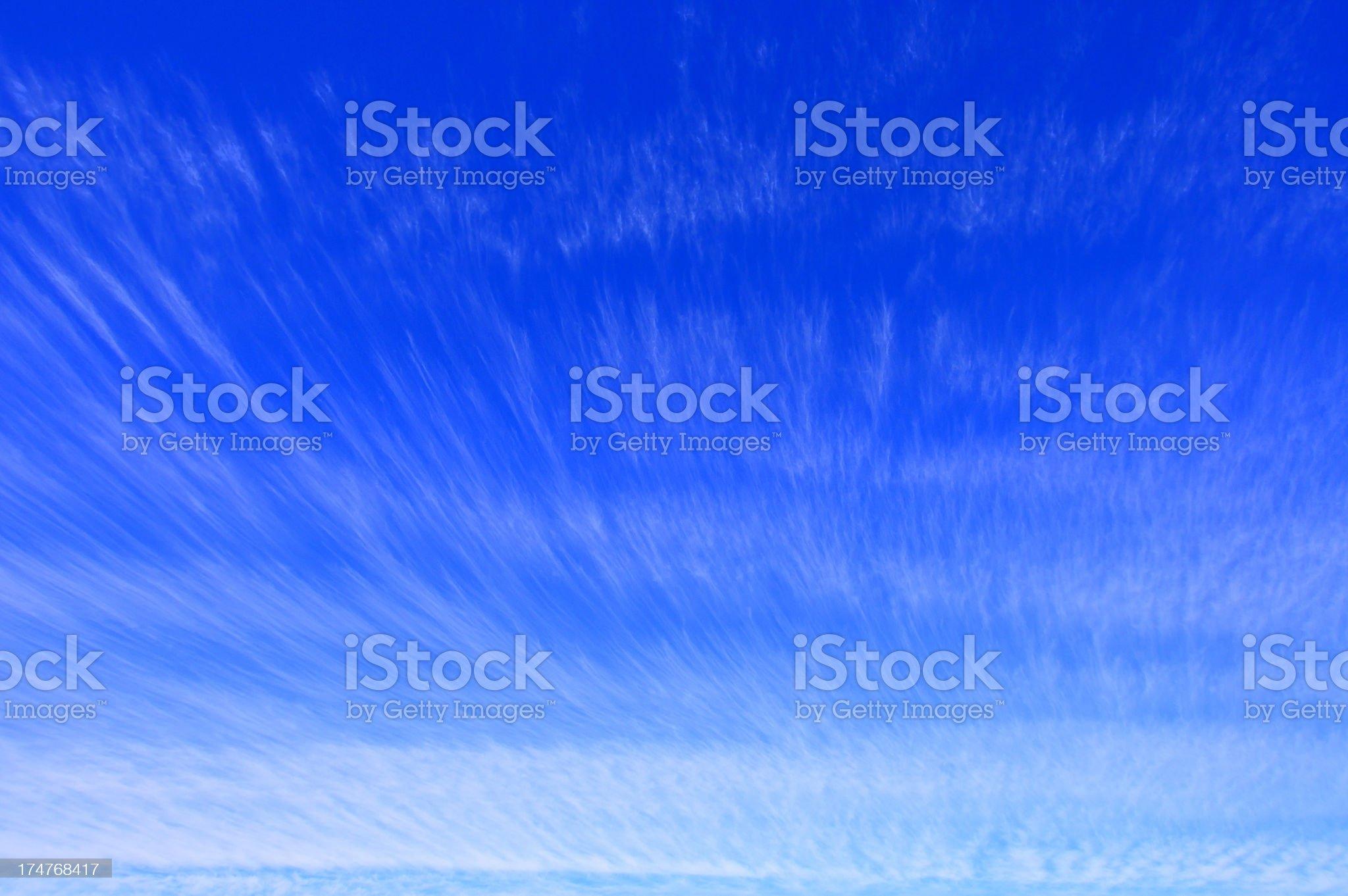 Karoo Cloudscape royalty-free stock photo