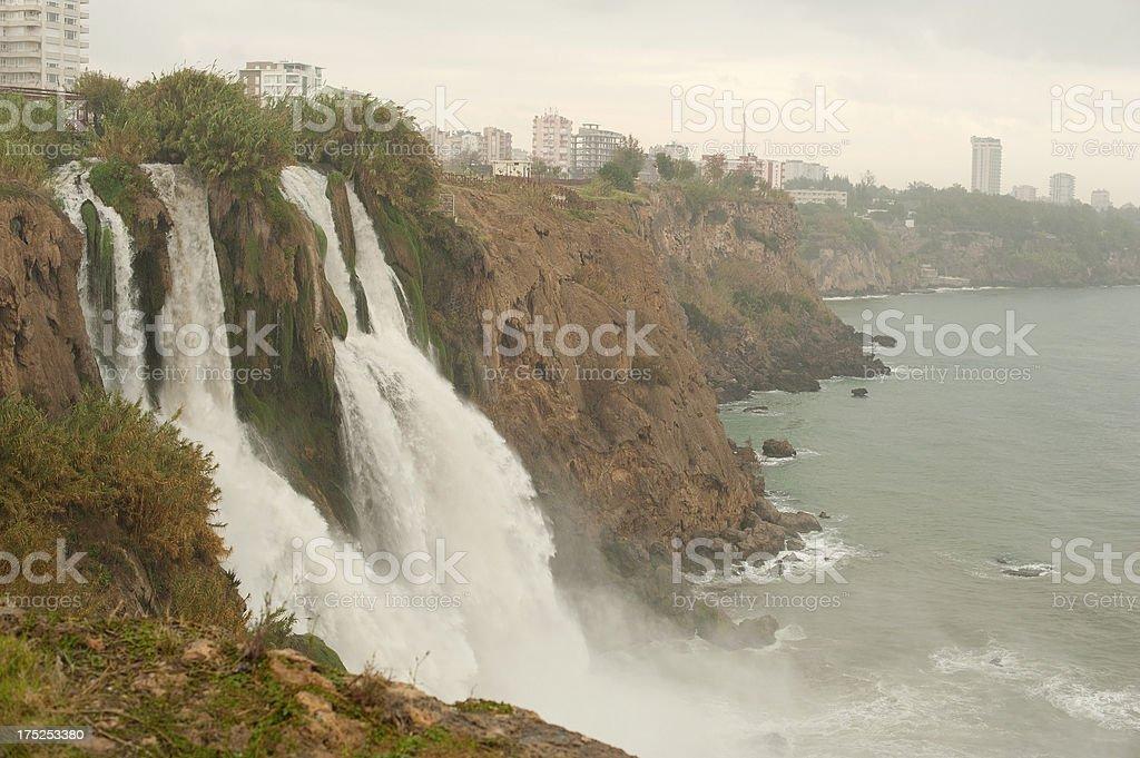 Karpuzkaldiran Waterfall royalty-free stock photo