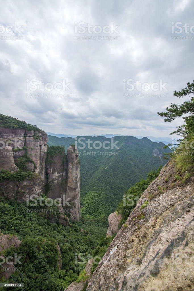 Karst mountains stock photo