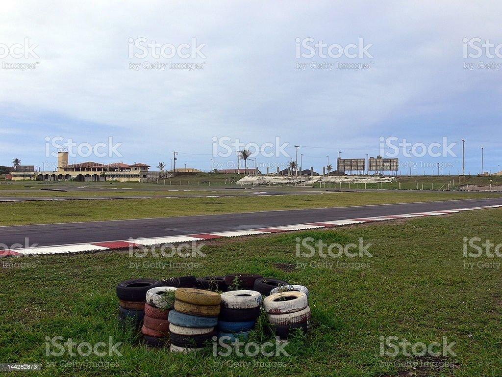 Kart Circuit royalty-free stock photo