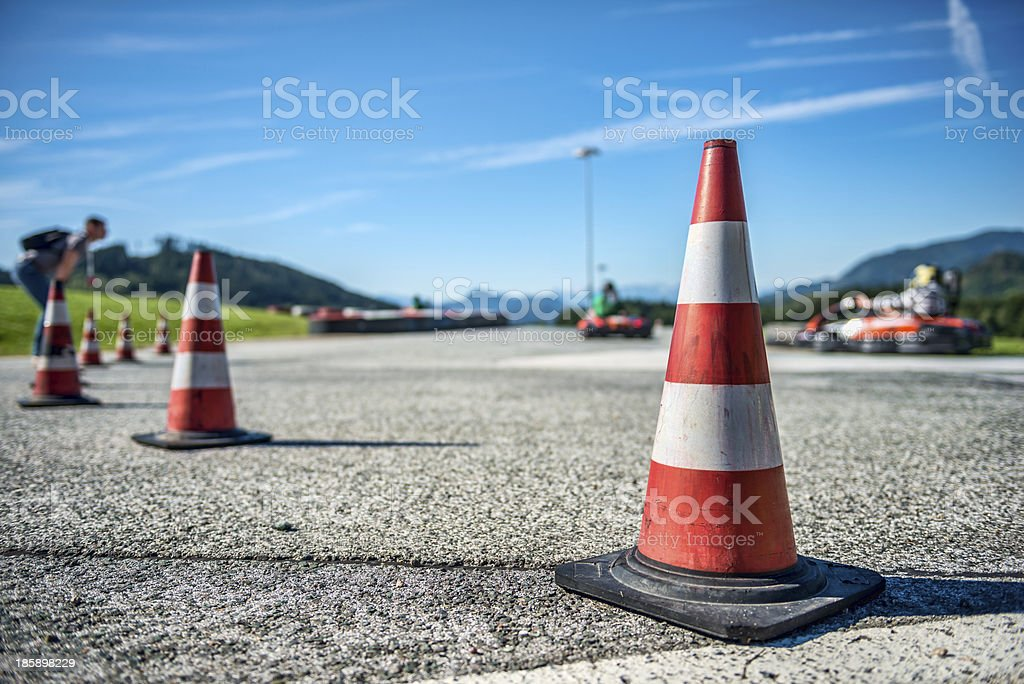 Kart Racing stock photo