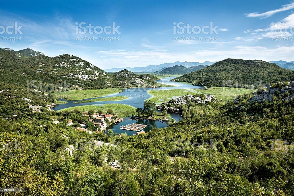 Karuc village, Montenegro stock photo