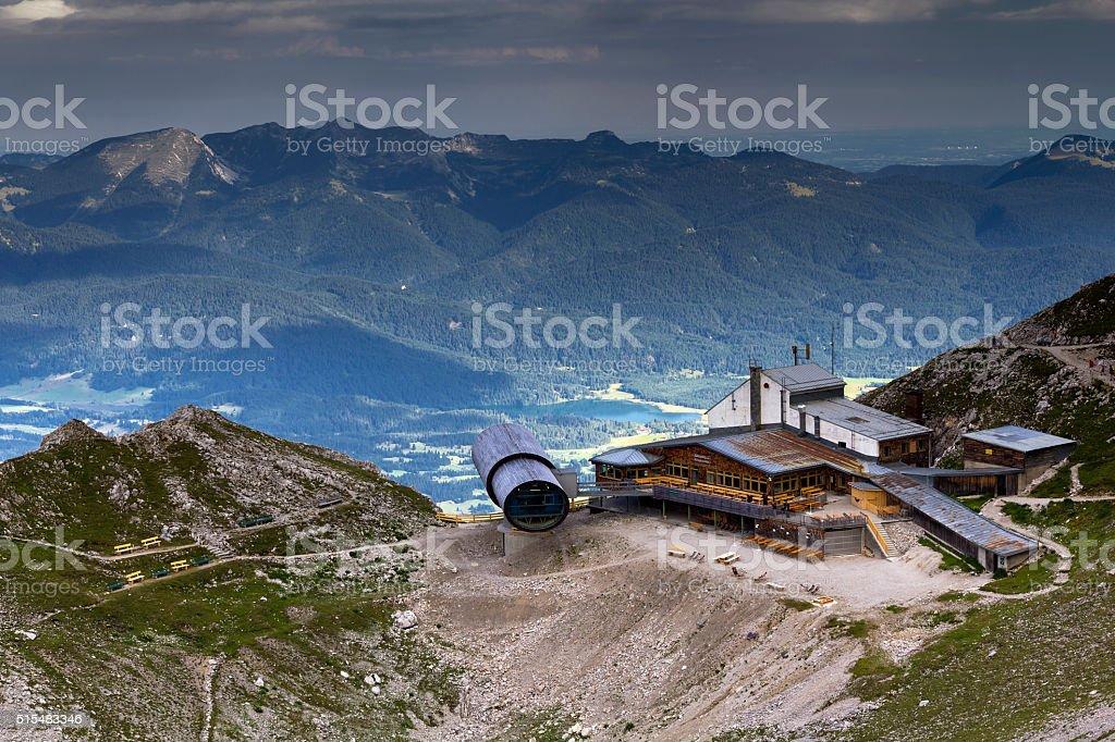 Karwendel Information Center stock photo