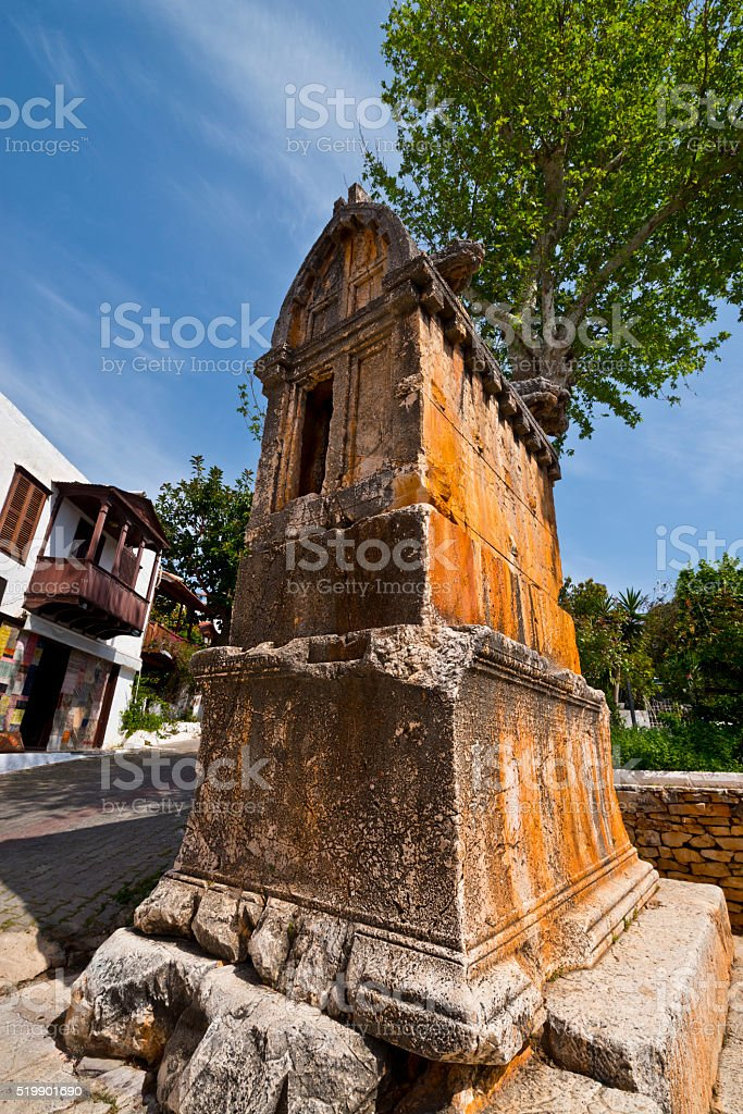 Kas Antalya stock photo