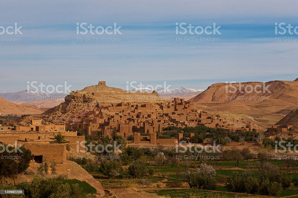 Kasbah Ait-Benaddhou stock photo