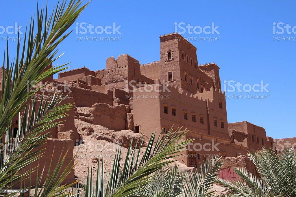 Kasbah in Marokko stock photo