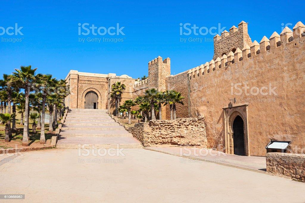 Kasbah in Rabat stock photo