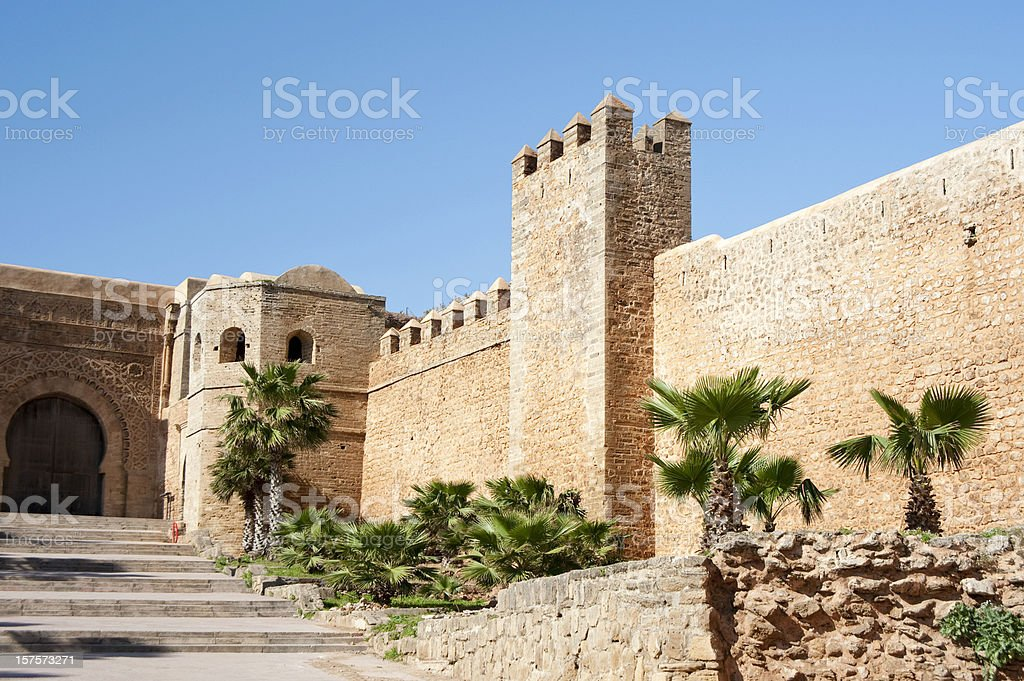 Kasbah of the Oudaias royalty-free stock photo