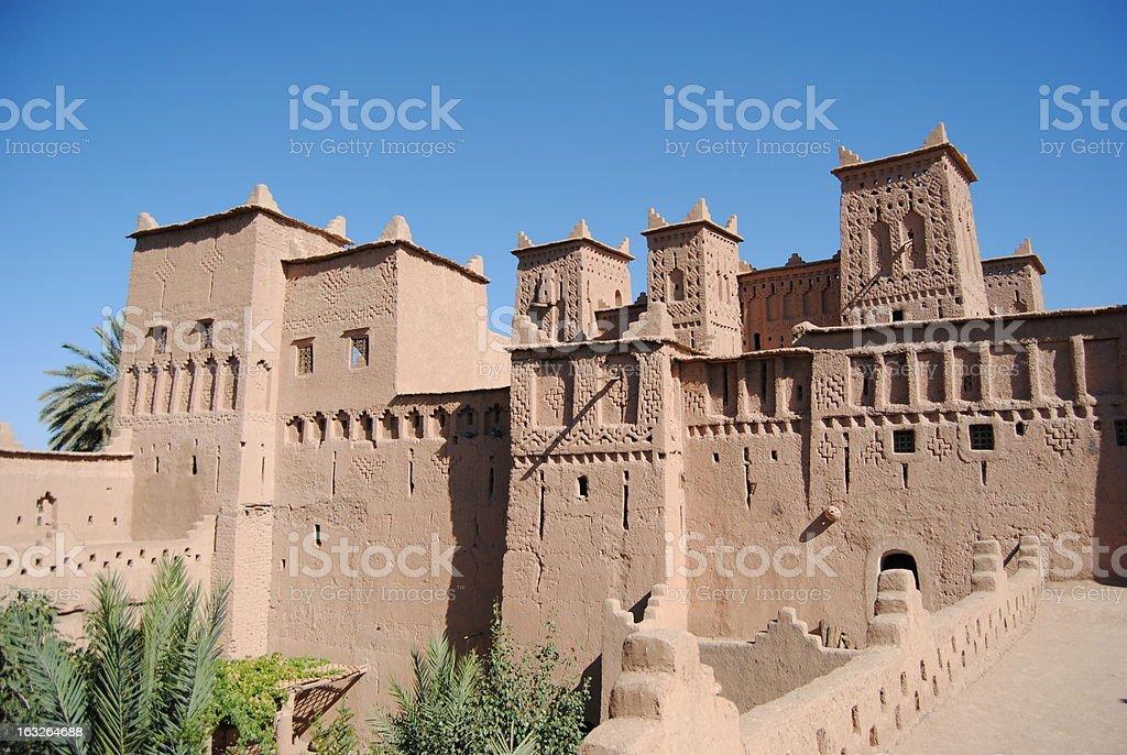 Kasbah royalty-free stock photo