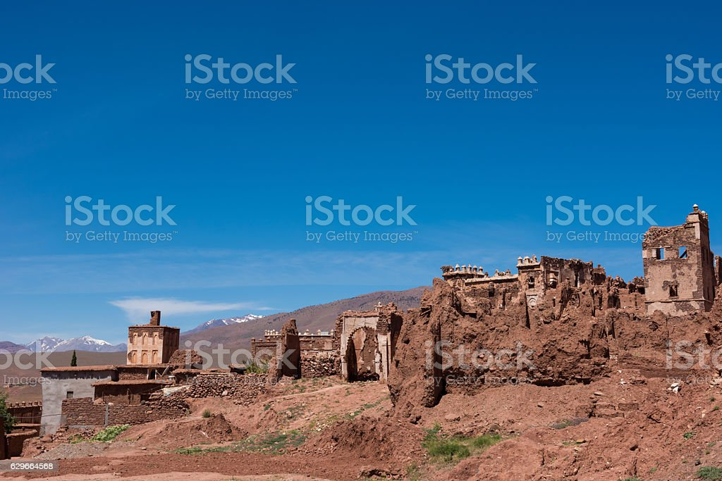 Kasbah Telouet, Morocco stock photo