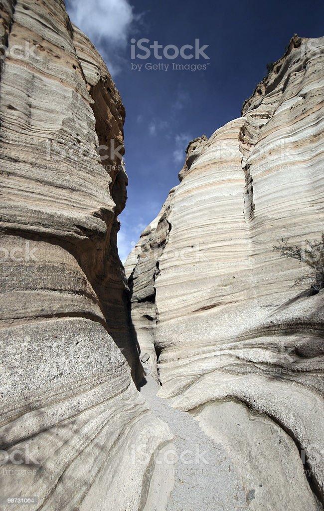 Kasha Katuwe Slot Canyon royalty-free stock photo