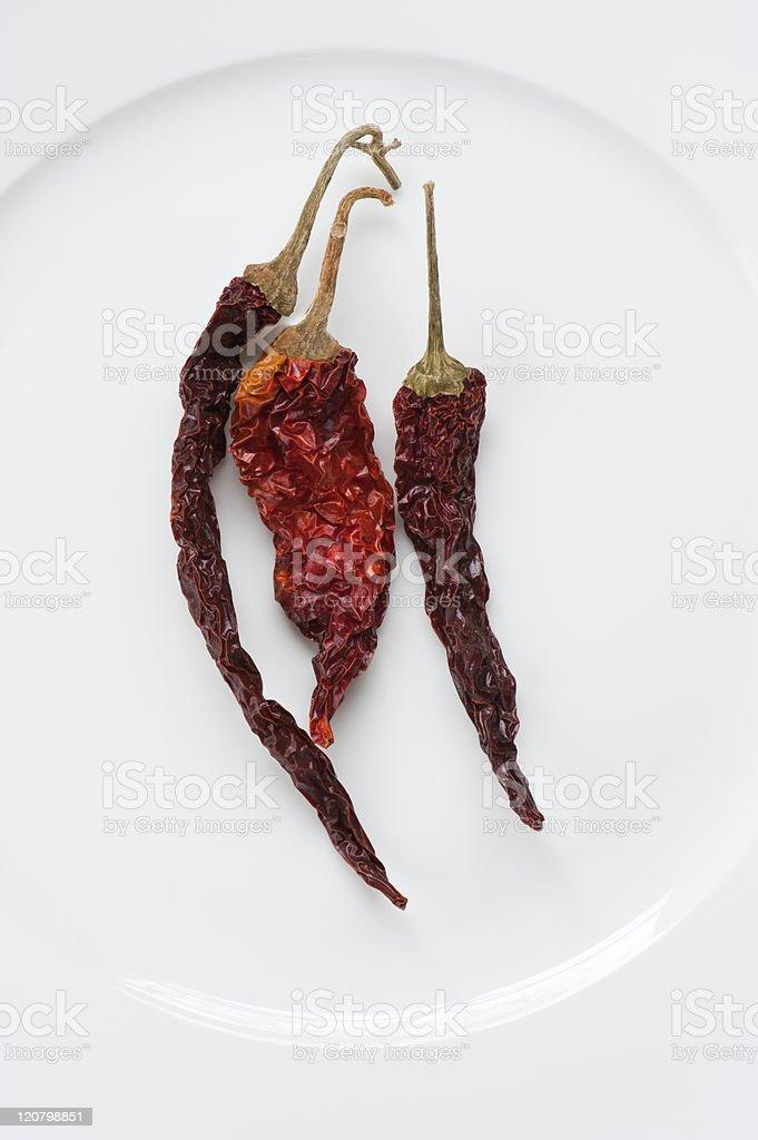 Kashmiri Chillis stock photo