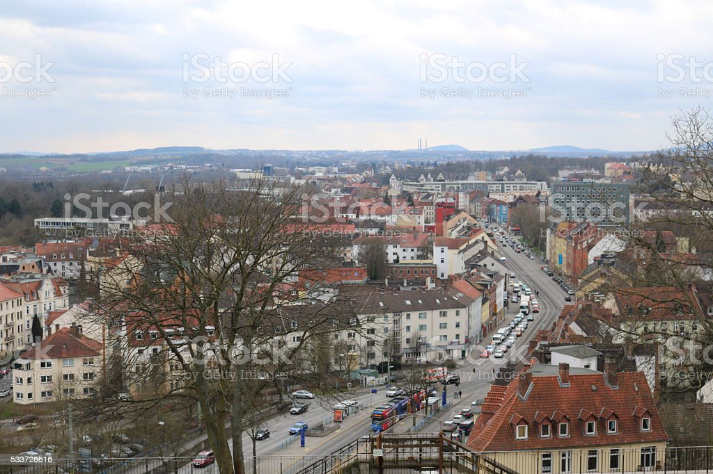 Kassel from Above stock photo