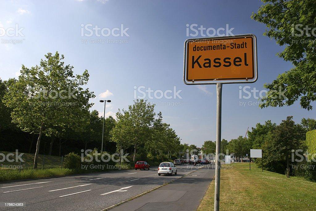 Kassel stock photo