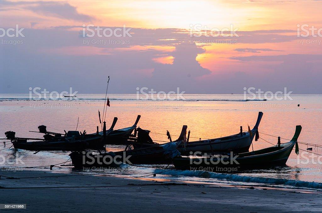 Kata Beach, Phuket ,Thailand stock photo