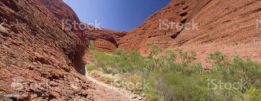 Kata Tjuta / The Olgas panorama royalty-free stock photo