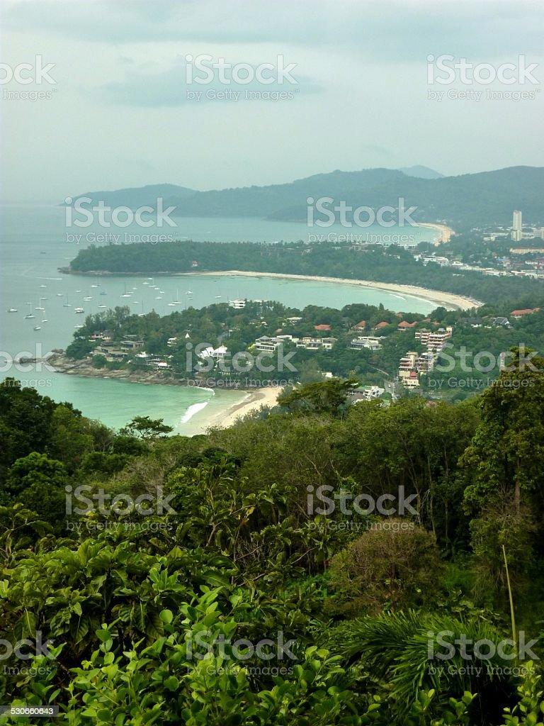 Kata view point, Phuket - Thailand stock photo