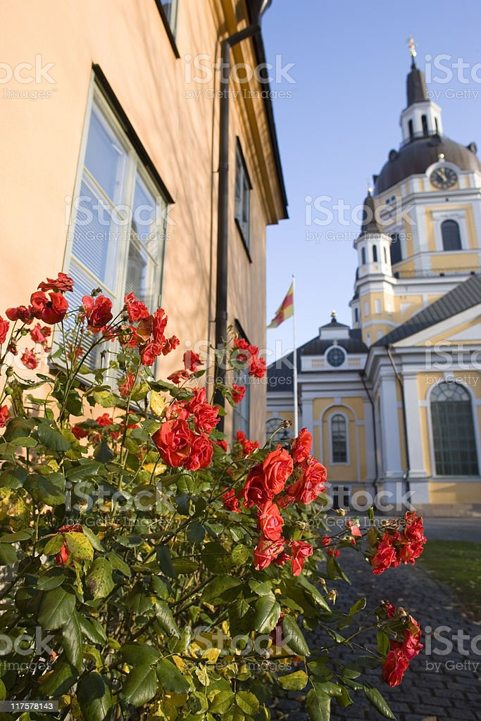 Katarina kyrka royalty-free stock photo