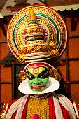 Kathakali dancer, Classical dance of Kerala India