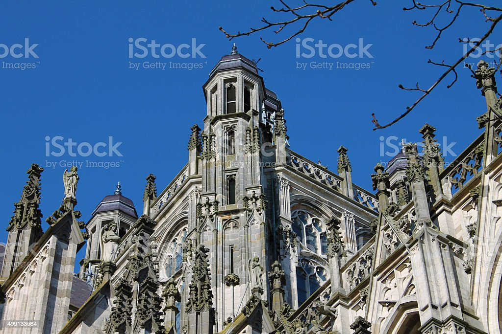 Kathedraal Den Bosch stock photo