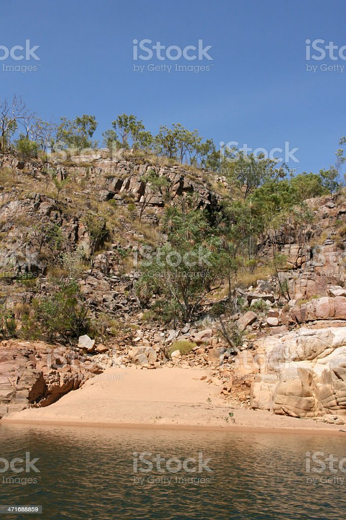 Katherine Gorge, Australia royalty-free stock photo