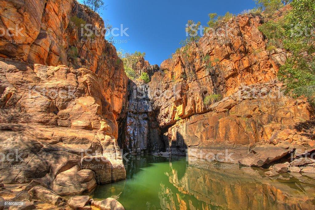Katherine Gorge national park stock photo
