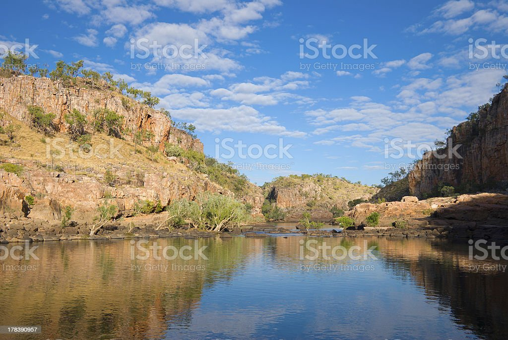 Katherine Gorge royalty-free stock photo