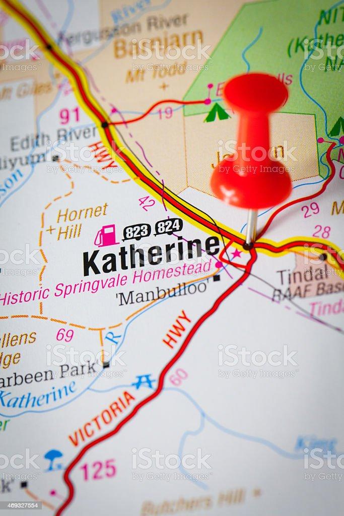 Katherine stock photo