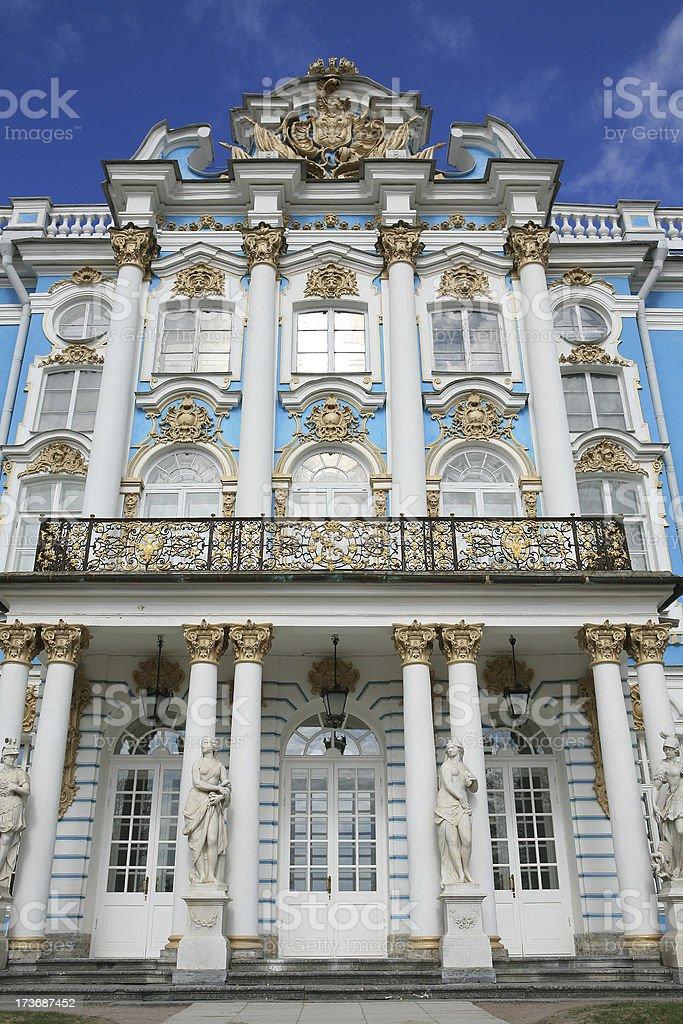 Katherines Palace, Pushkin, Russia stock photo